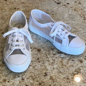 Superga Shoes | Mesh Low Top Sneakers